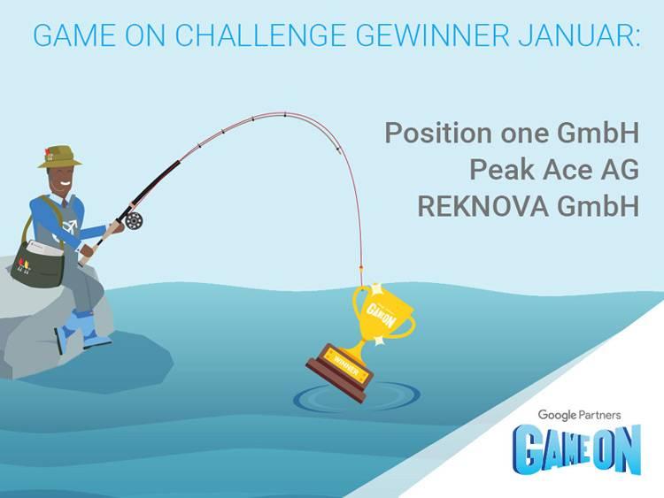 Position One gewinnt Google Game On Challenge