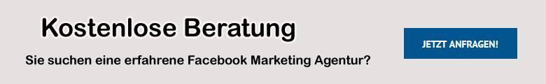 Hier kostenlos Angebot für Facebook Werbung holen