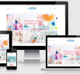 La Boum - Onlineshop